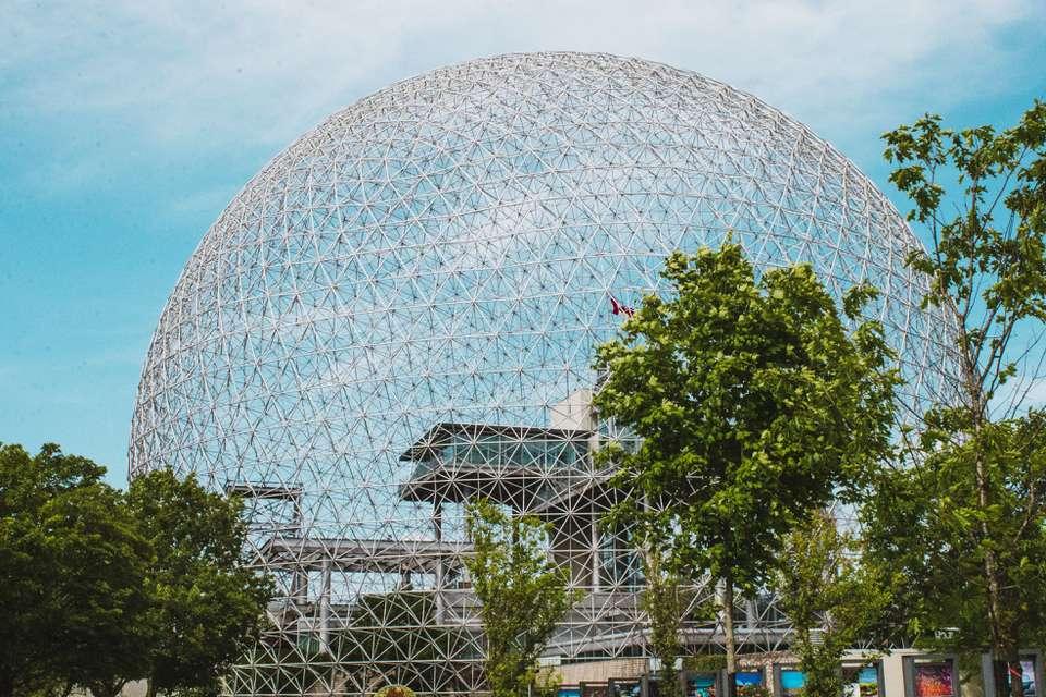 Parc Jean-Drapeau en Montreal