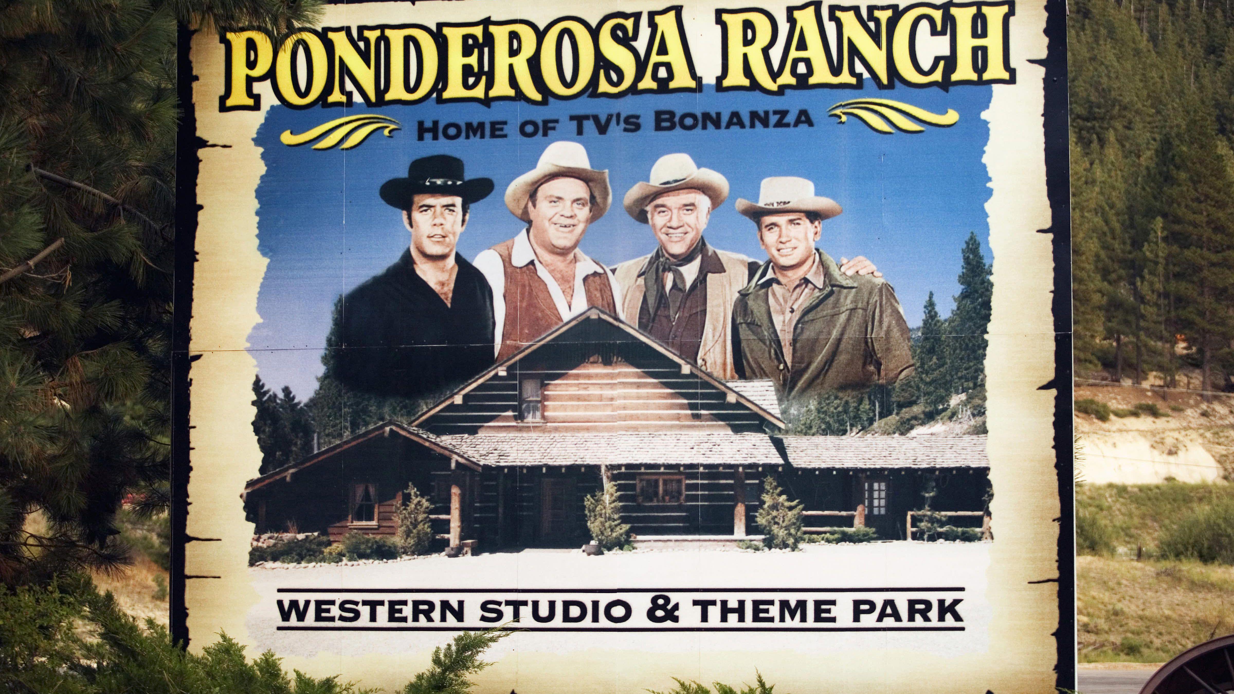 Ponderosa Ranch: Bonanza TV Location at Lake Tahoe