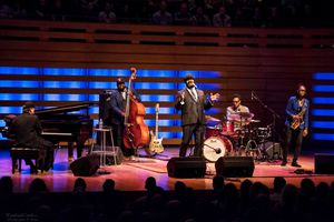Scene from the Toronto Jazz Festival