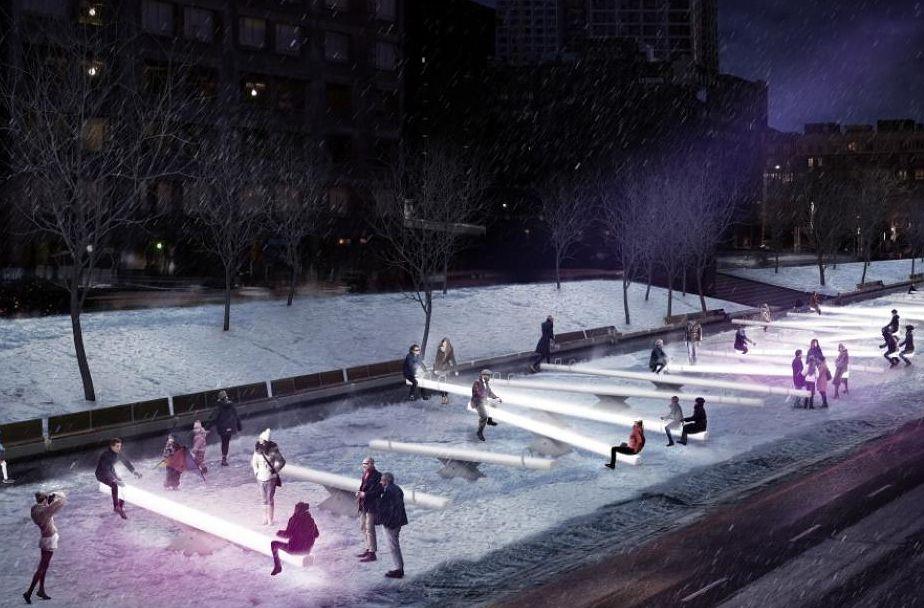 Kostenlose Aktivitäten in Montreal während der Weihnachtsferien umfasst Luminothérapie des Impulsion zu tun.