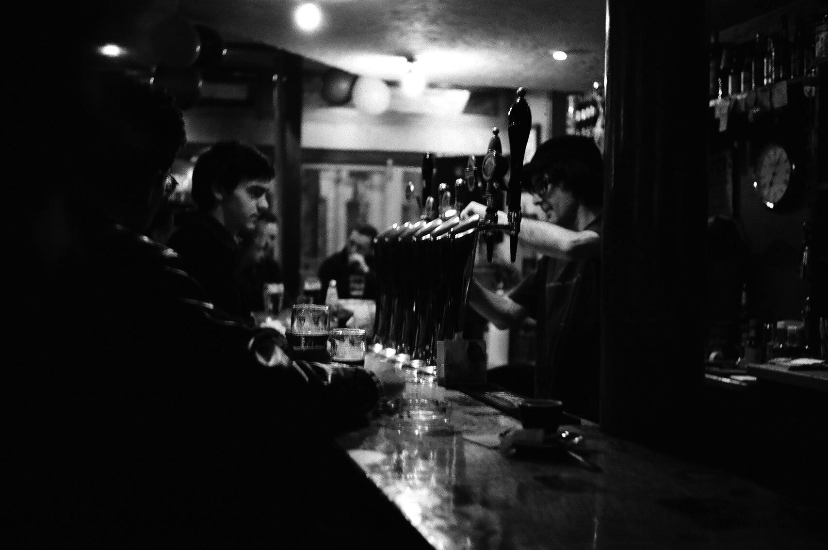 The Green Linnet is a favorite Irish watering hole in Paris.