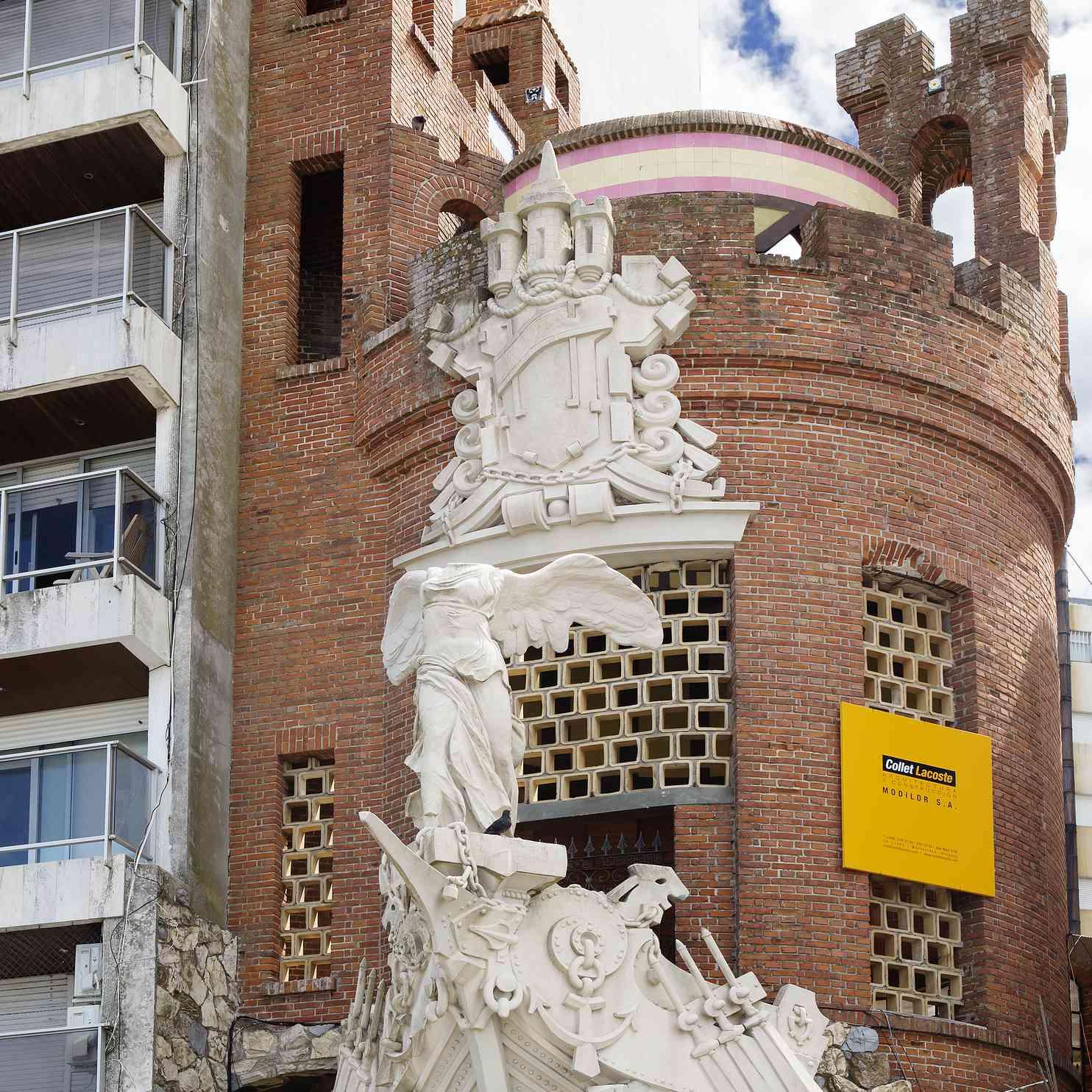 Montevideo, Uruguay, Castle on the Rambla.