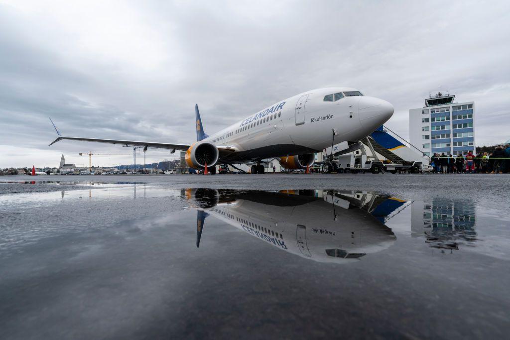 Icelandair's New Boeing 737 MAX 8 Plane