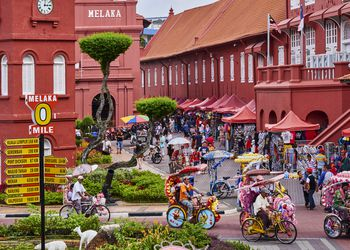 Malaysia, Malacca, City square