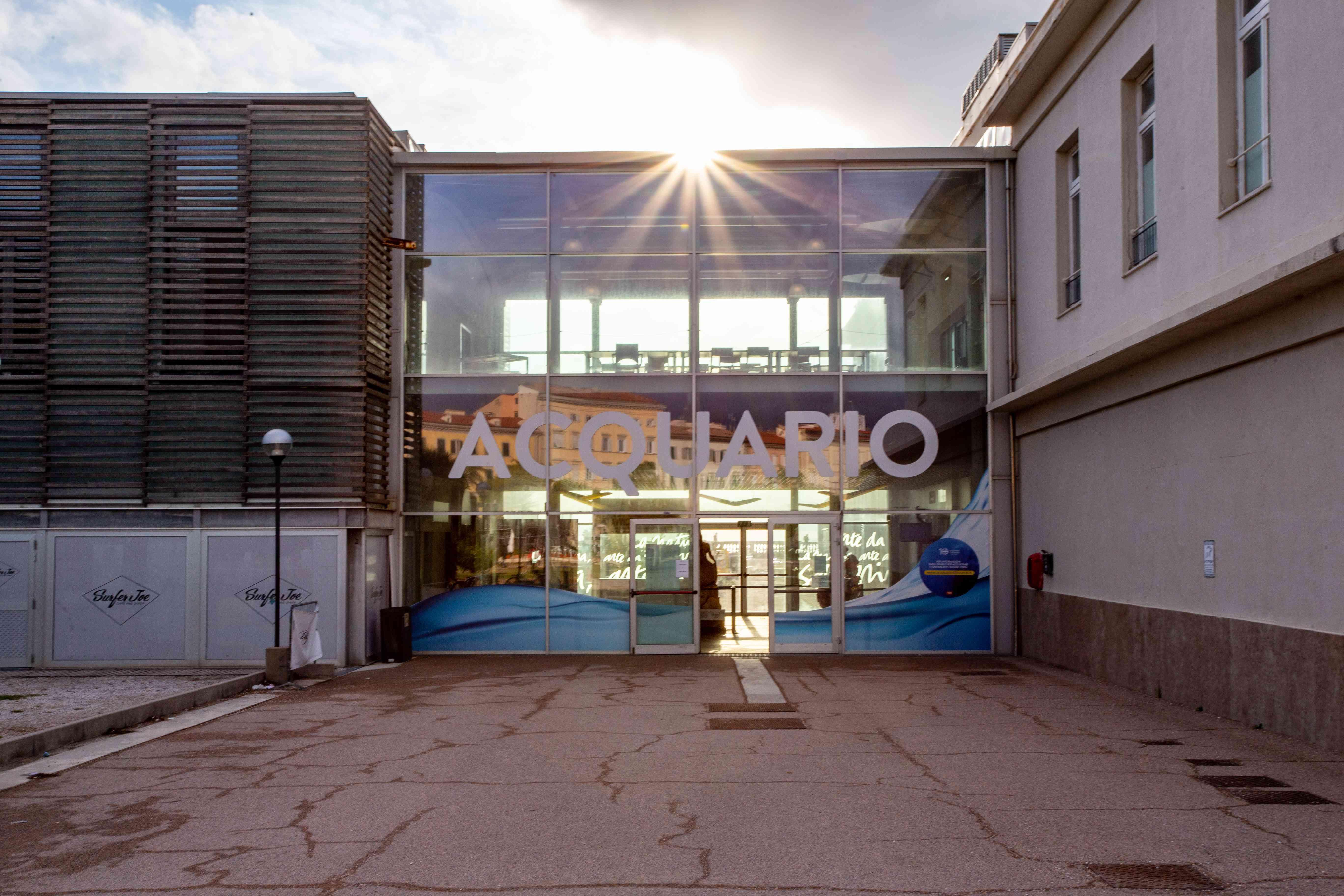Livorno Aquarium in Italy