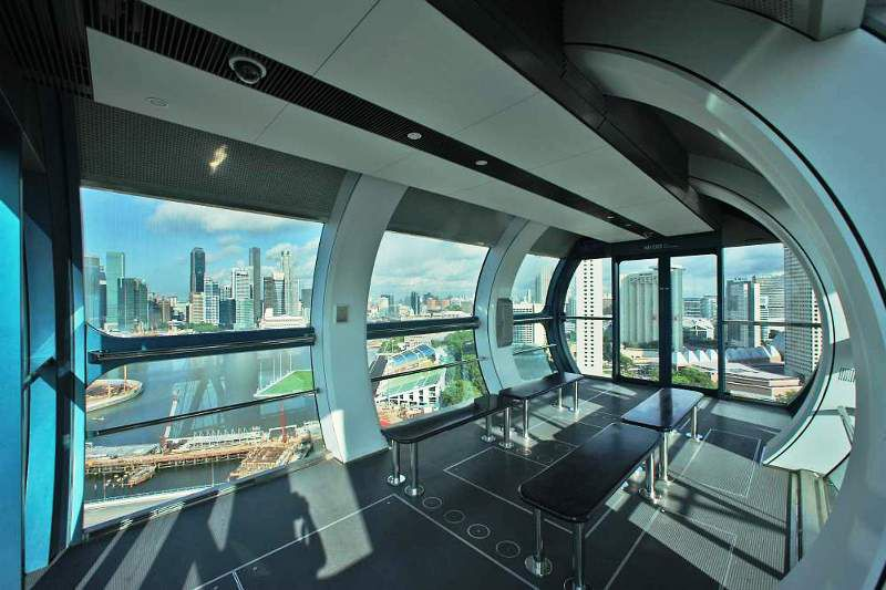 The Singapore Flyer Capsule