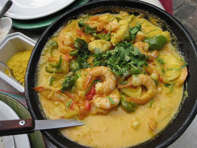 typical Brazilian food: moqueca