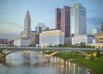 Columbus Skyline in daylight