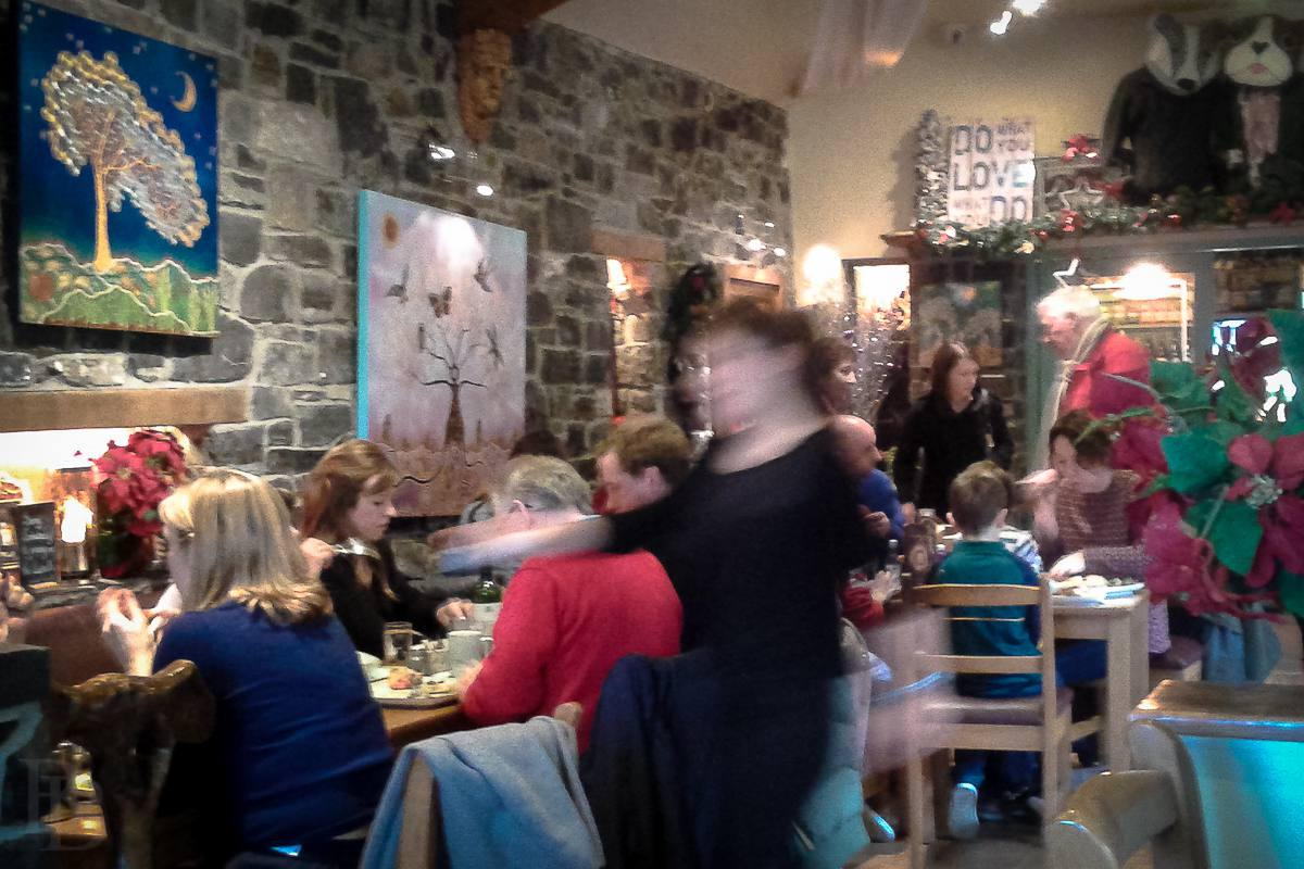 Maguire's Café at the Hill of Tara in full swing