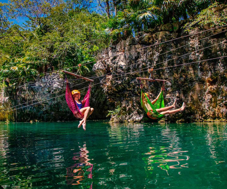 Hammock Splash at Xplor Park Riviera Maya