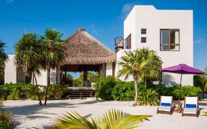 Villa de alquiler de lujo en la playa de Tulum, México