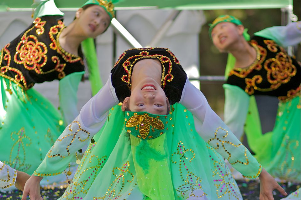 Hai Yan Jackson Chinese Dance at the San Francisco Autumn Moon Festival