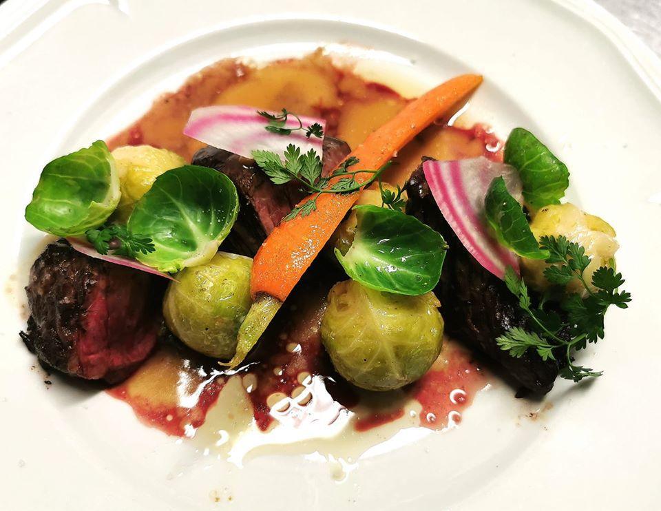 A dish from Le Bouchon des Cordeliers, Lyon