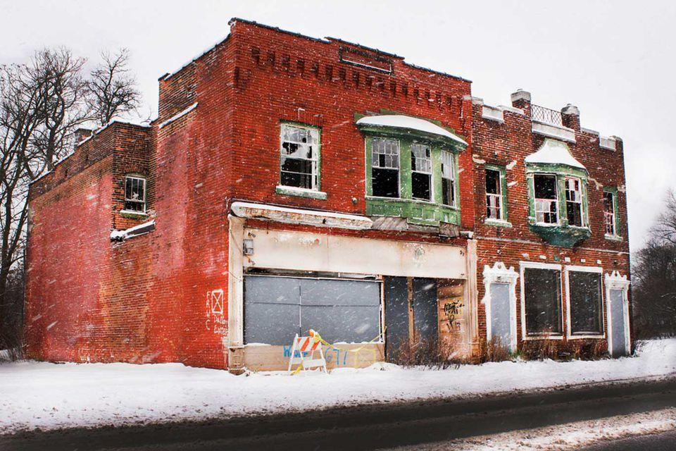 Abandoned Building in Buffalo New York