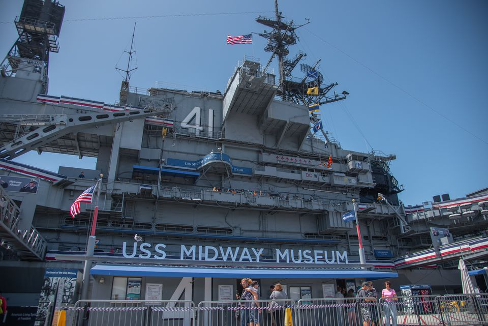 USS Midway Museum in San Diego