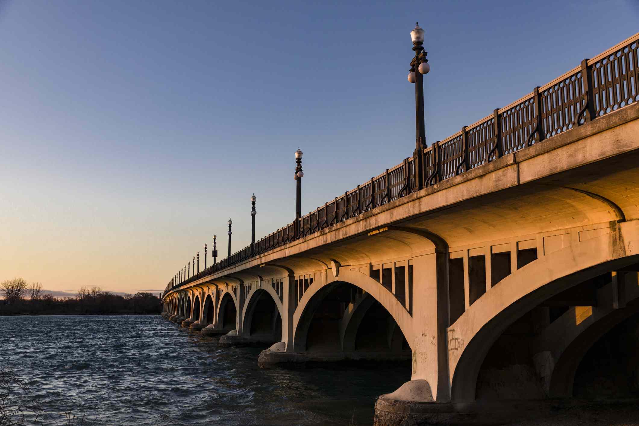 Puente MacArthur, Detroit, Michigan, Estados Unidos, EE.UU.