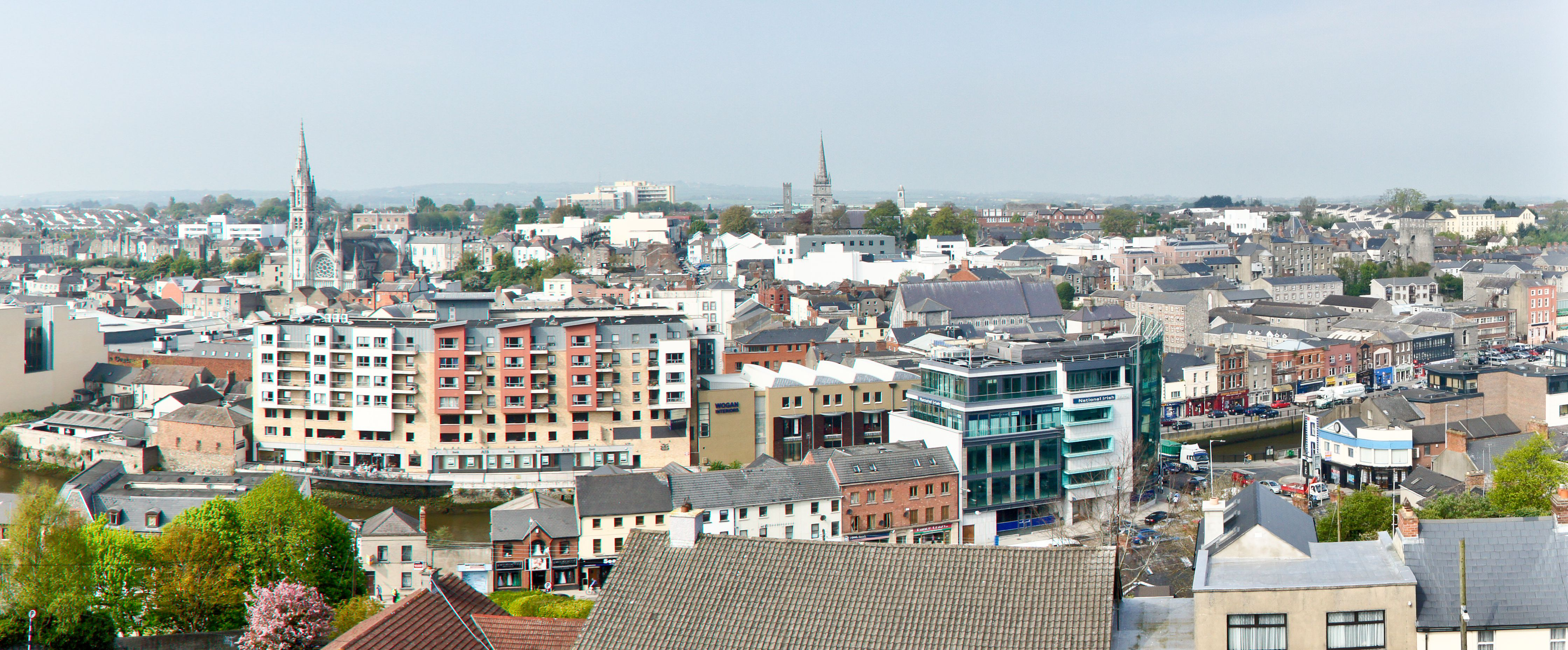 View of Drogheda Ireland from the Martello tower