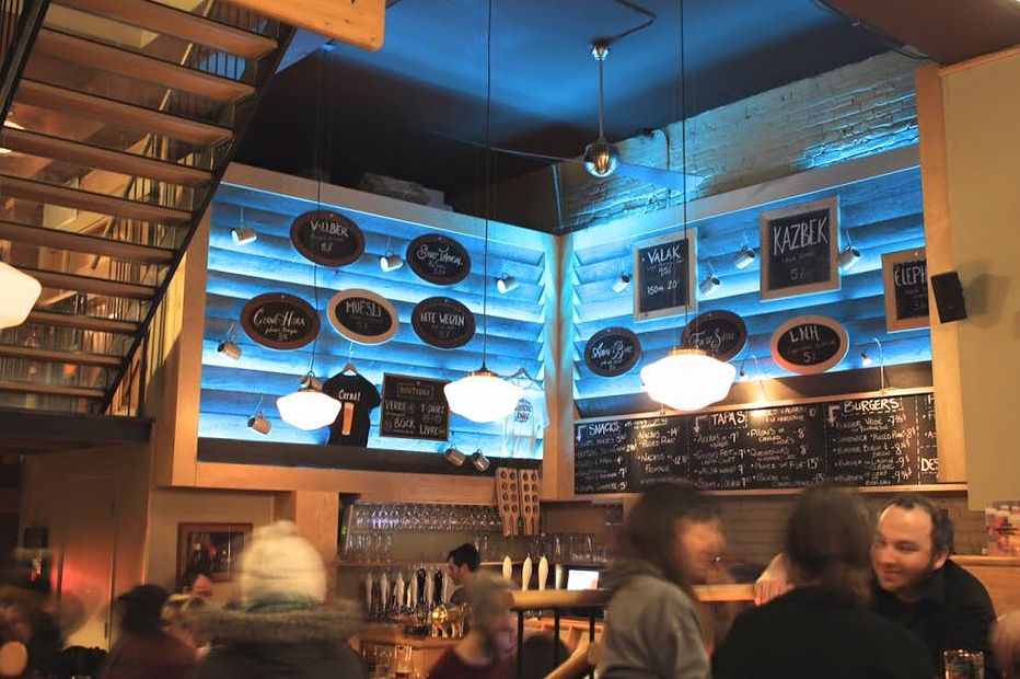 Montreal's hottest brewpubs include L'Amère à Boire.