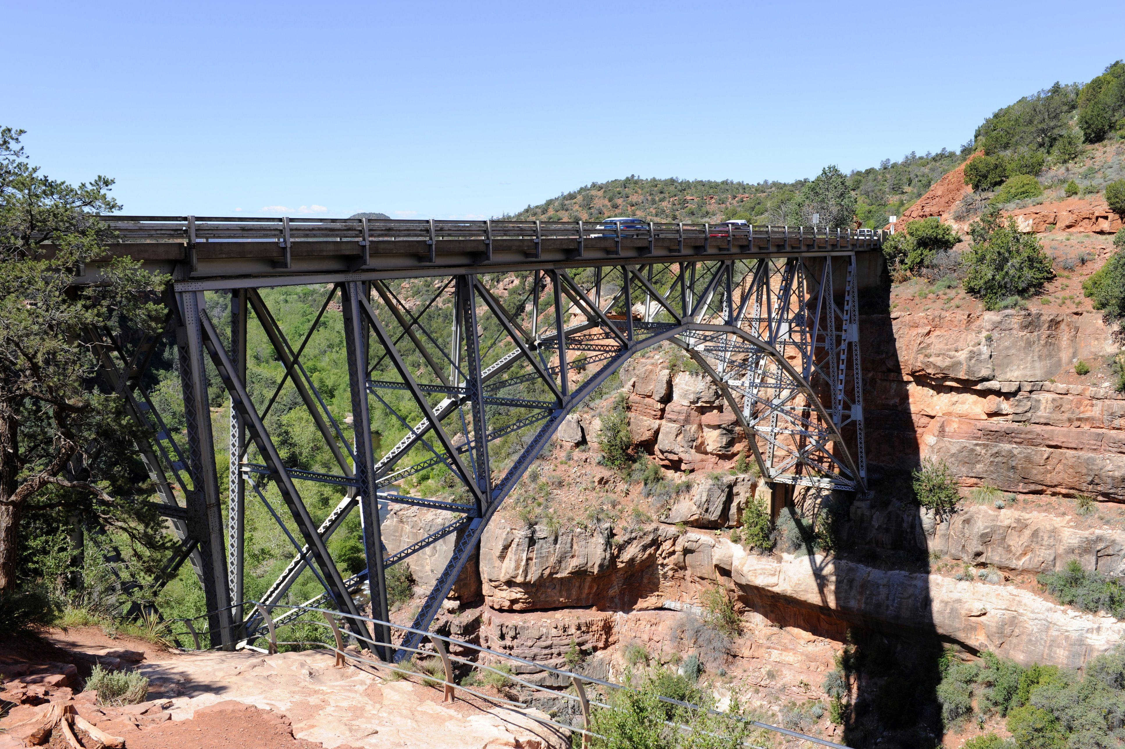 Midgley Bridge Highway 89A, Sedona, Arizona, USA