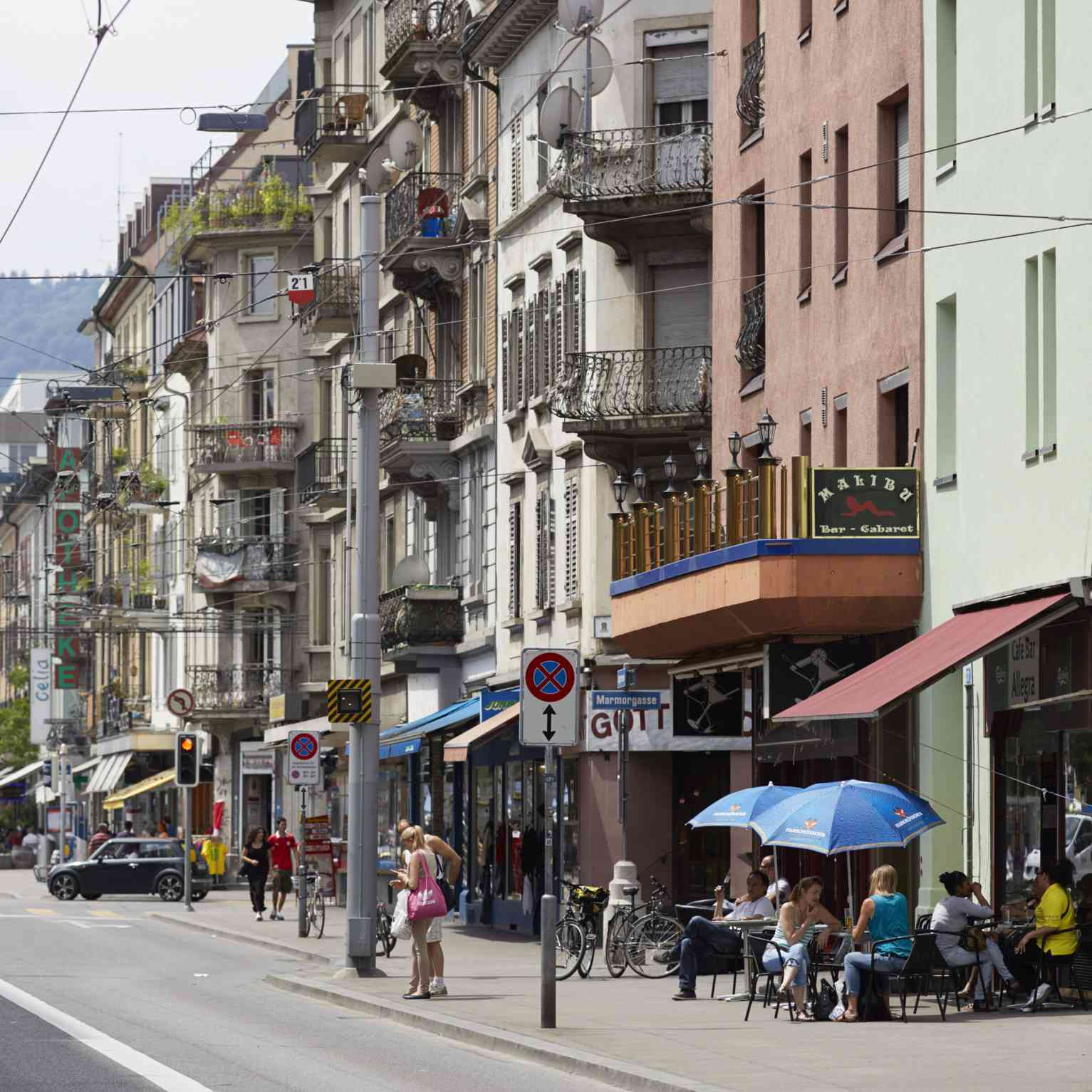 Langstrasse, Zurich