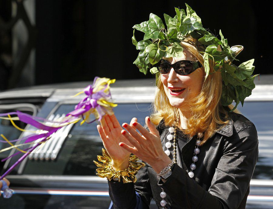 Actress Patricia Clarkson as Honorary Muse