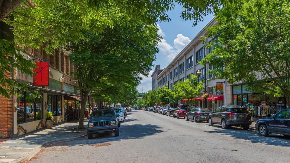 Haywood Street, Asheville, Carolina del Norte, EE. UU.