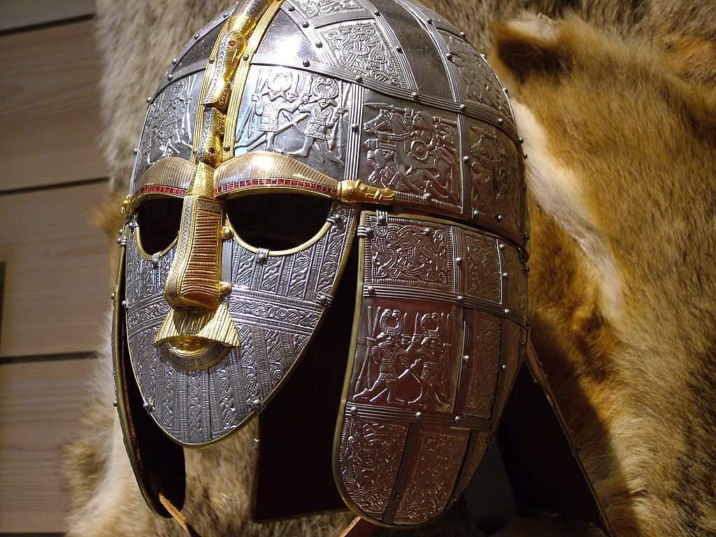 Máscara de entierro Sutton Hoo