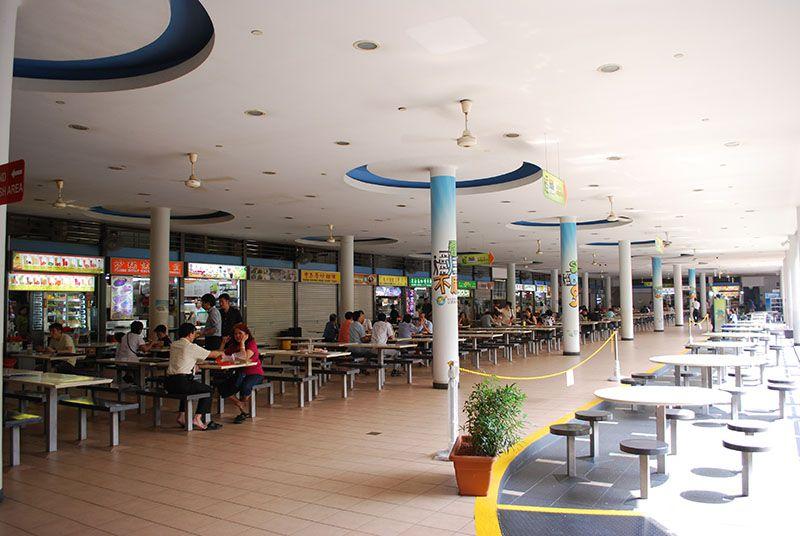 Interior Tiong Bahru Market