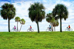 Bicycling, Tampa Bay, Saint Petersburg, Florida