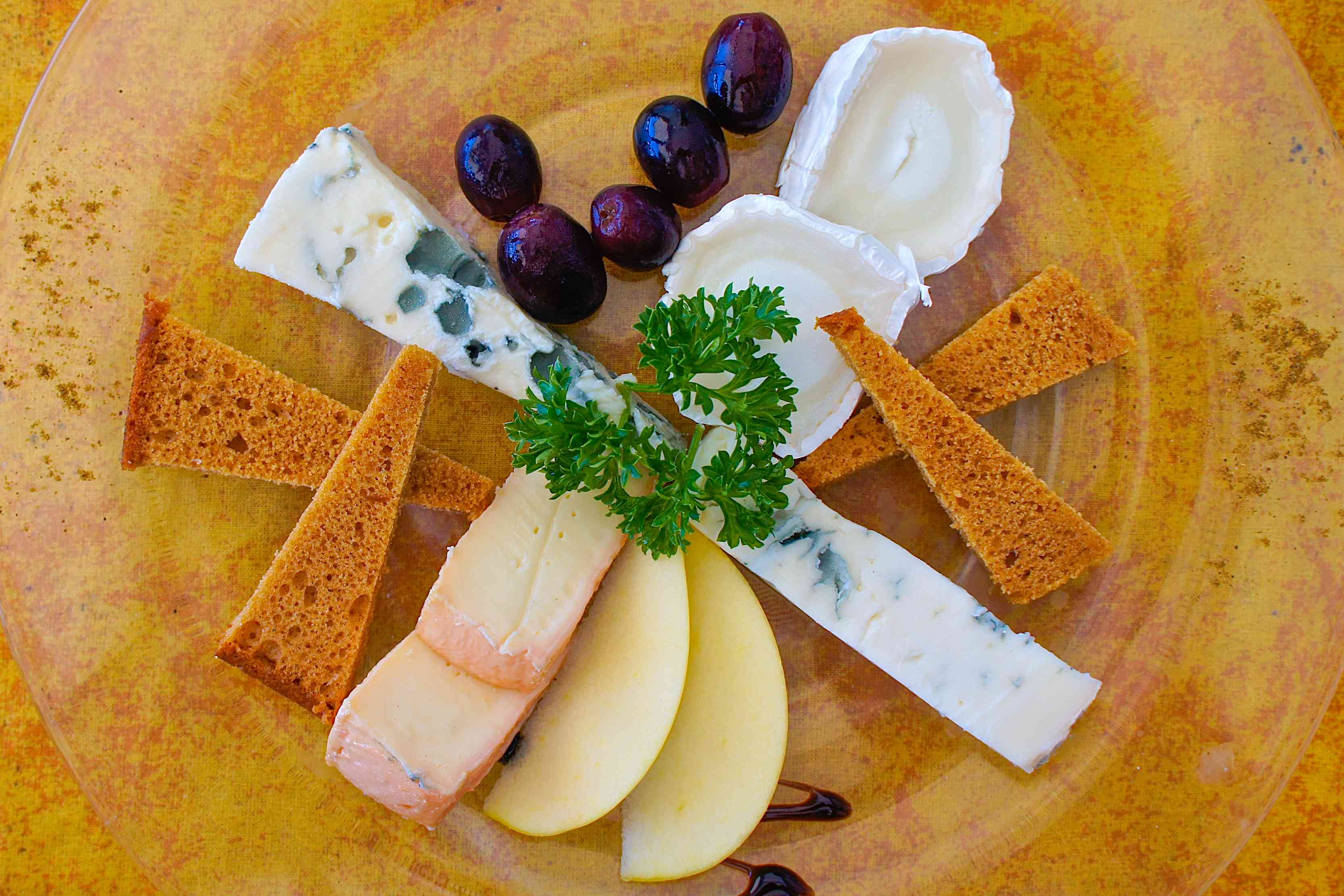 Cheese plate from Grand Case restaurant