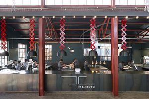 Show kitchen at Urbanologi, Johannesburg