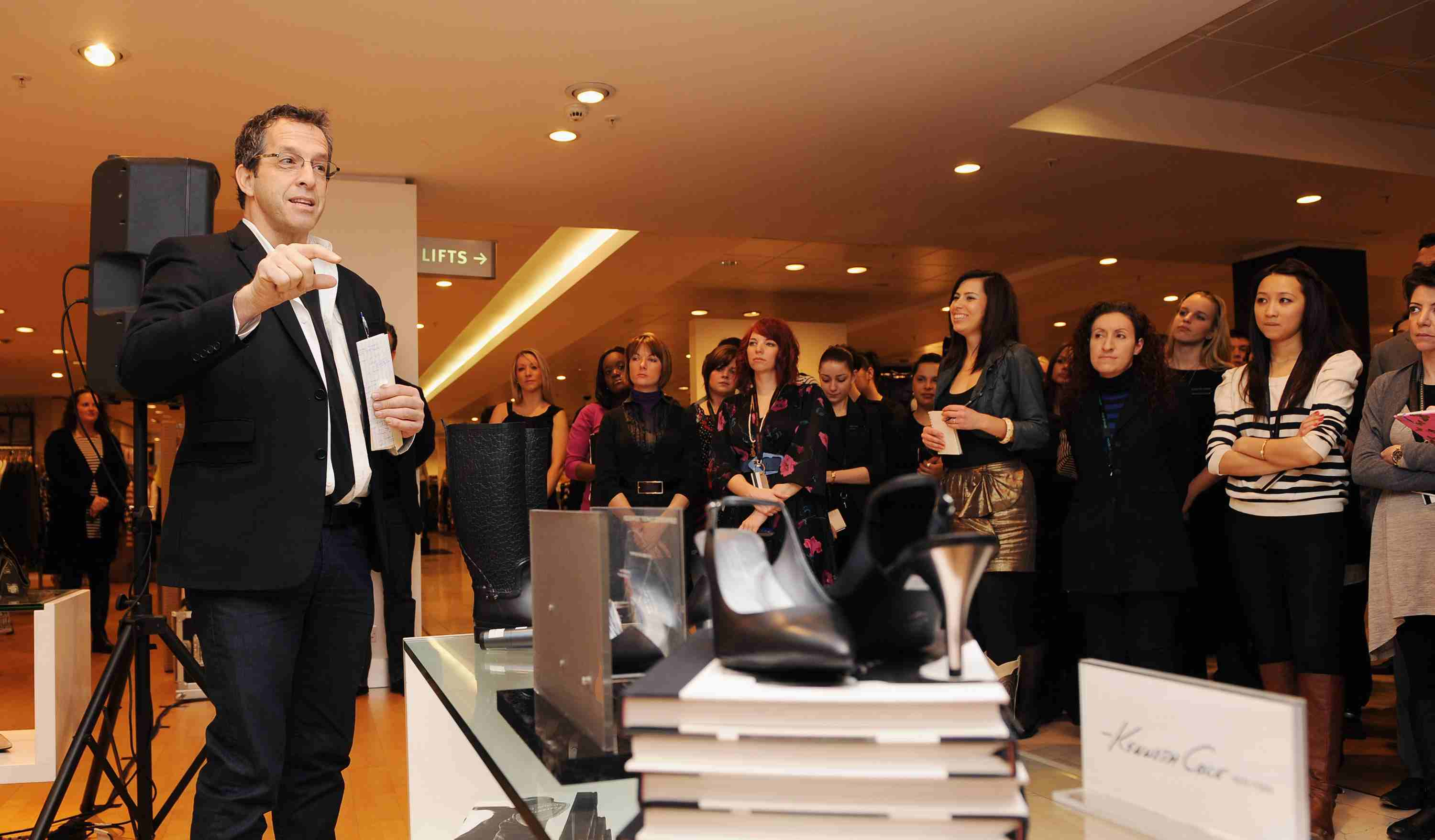 Kenneth Cole Personal Appearance at House of Fraser Oxford Street