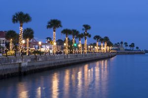 Nights of Lights Christmas celebration in St. Augustine, Florida