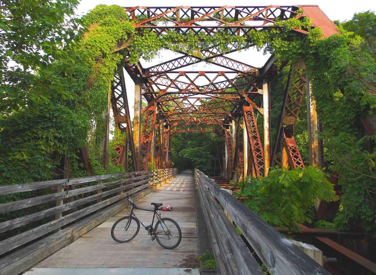 Western Maryland Railway BoWest Bridge