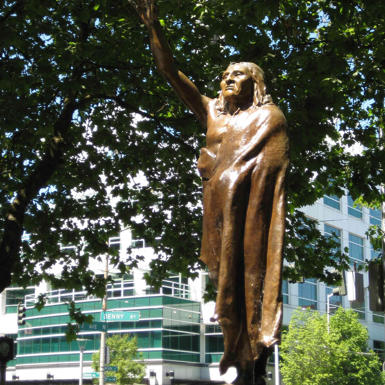 Chief Seattle Statue