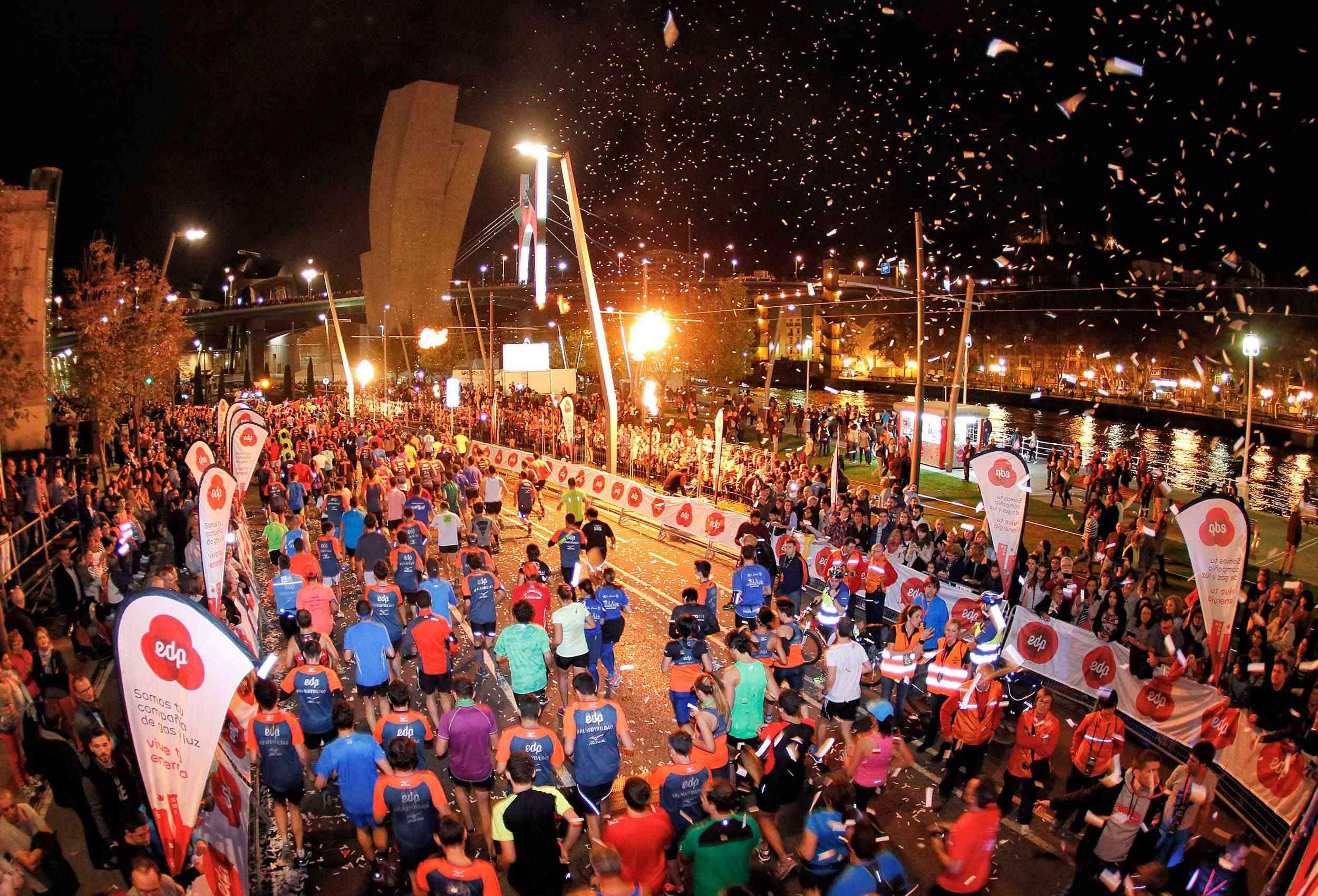 Bilbao Bizkaia Night Marathon