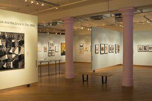 Interior of the Leslie Lohman Museum Paul Thek Exhibition