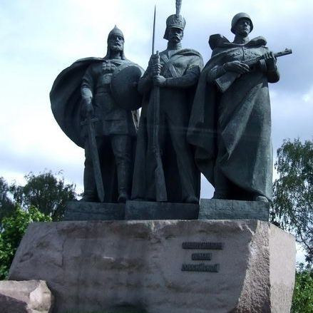 Russian Soldiers' Memorial in Victory Park in Moscow