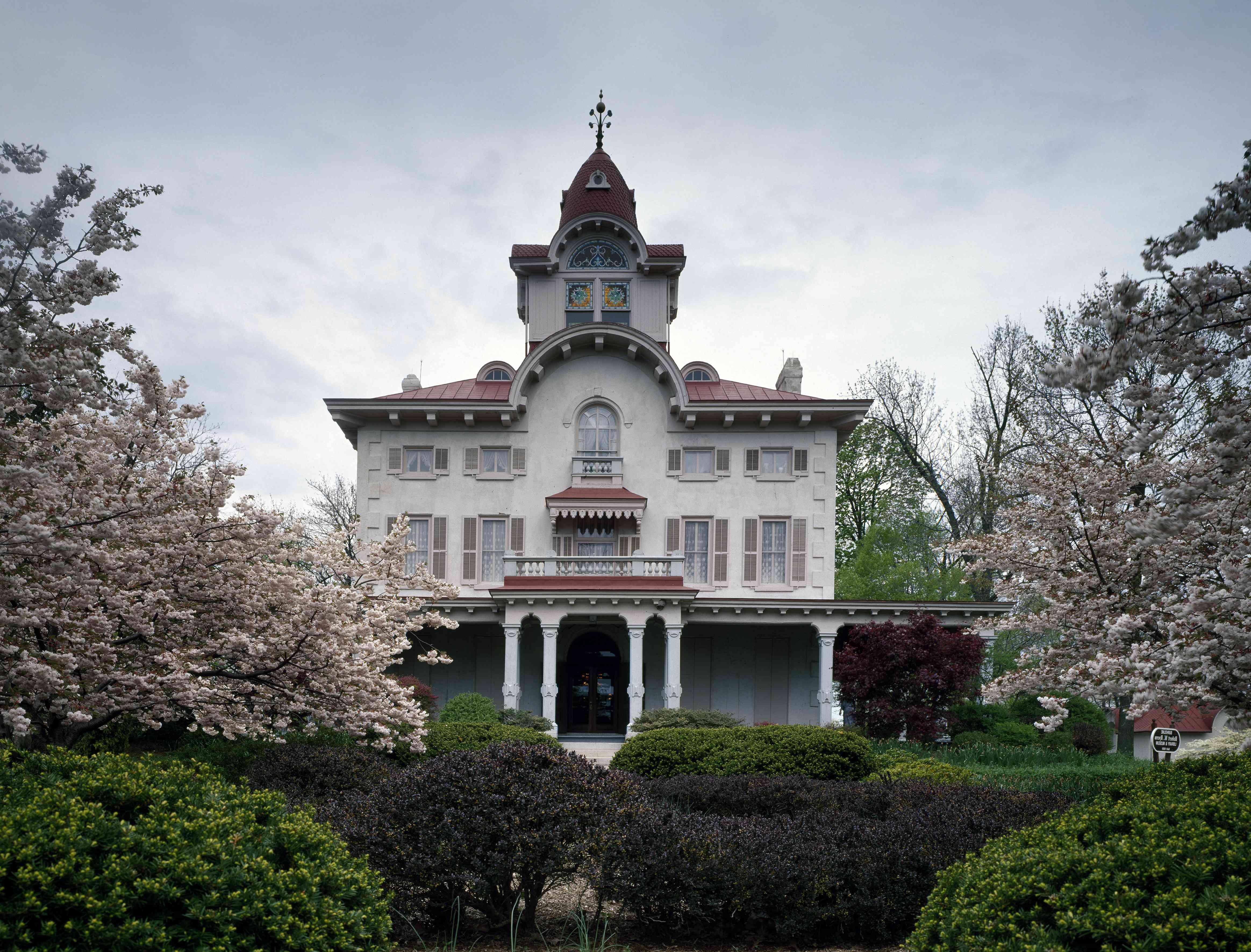 Ryerss Victorian Mansion in Fox Chase neighborhood of Philadelphia, Pennsylvani