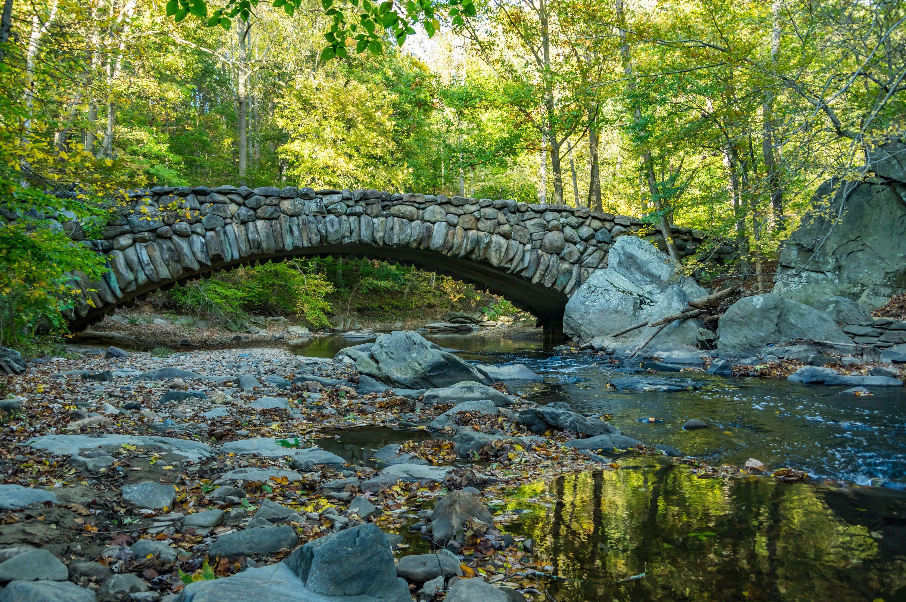 Rock Creek Park Boulder Bridge