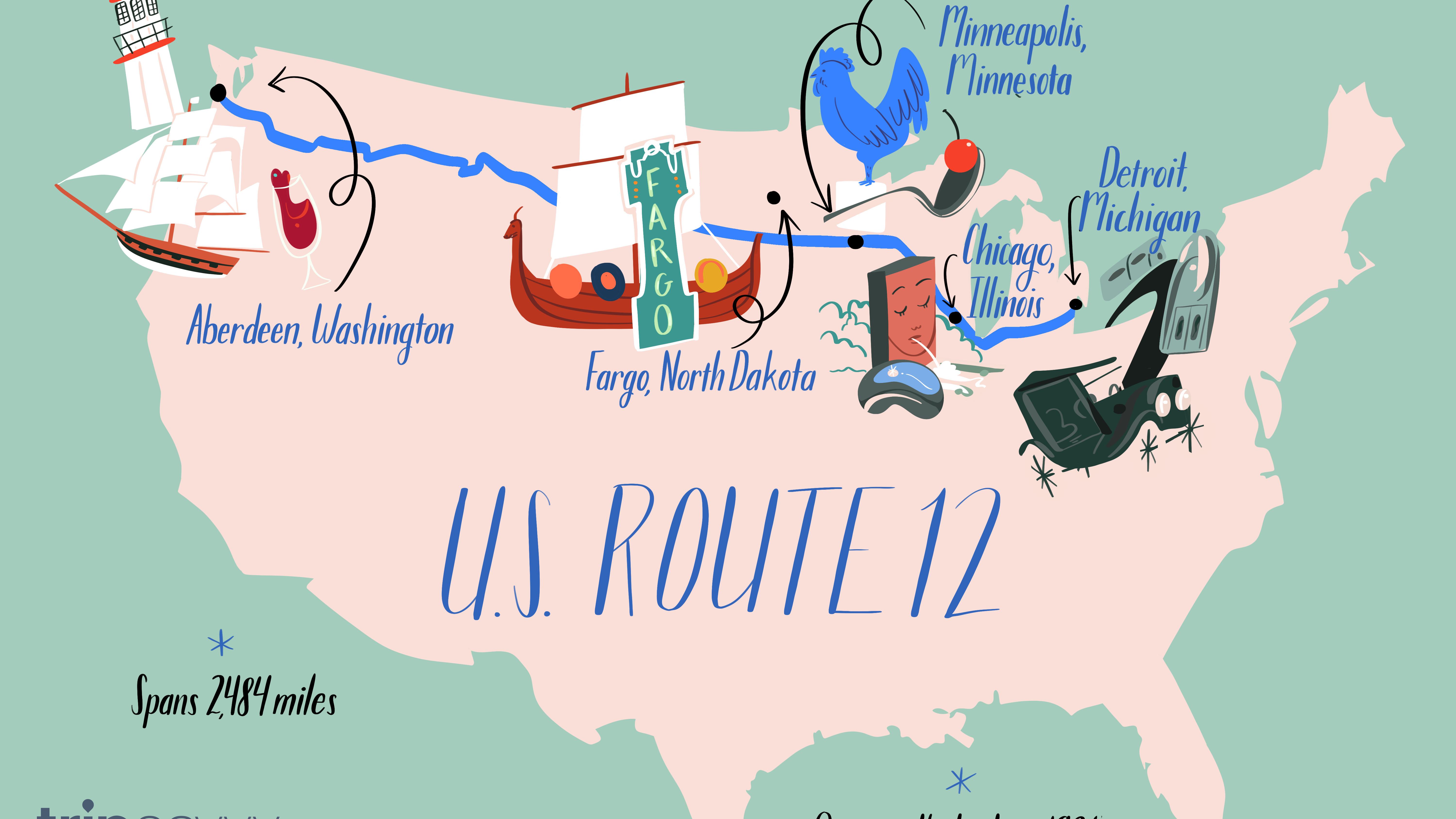 Your Guide To The U S Route 12 Road Trip