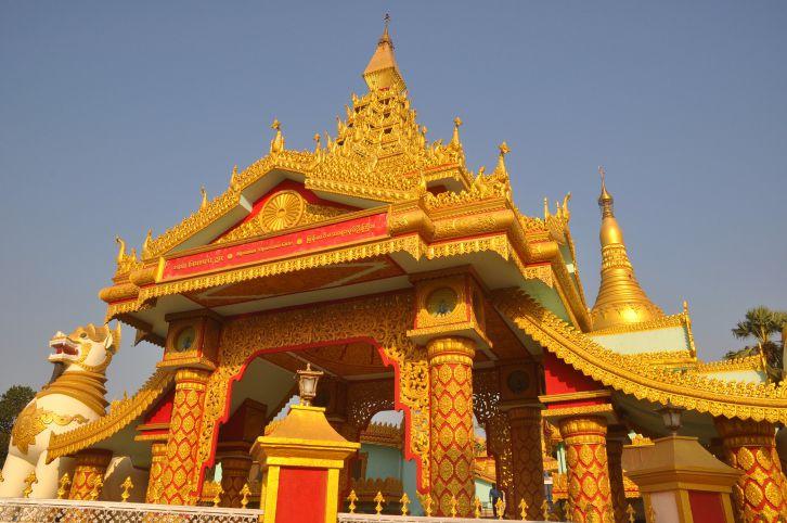 Global Buddhist Pagoda, Mumbai.