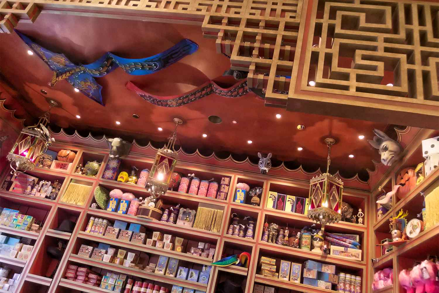 Shopping at Wizarding World of Harry Potter