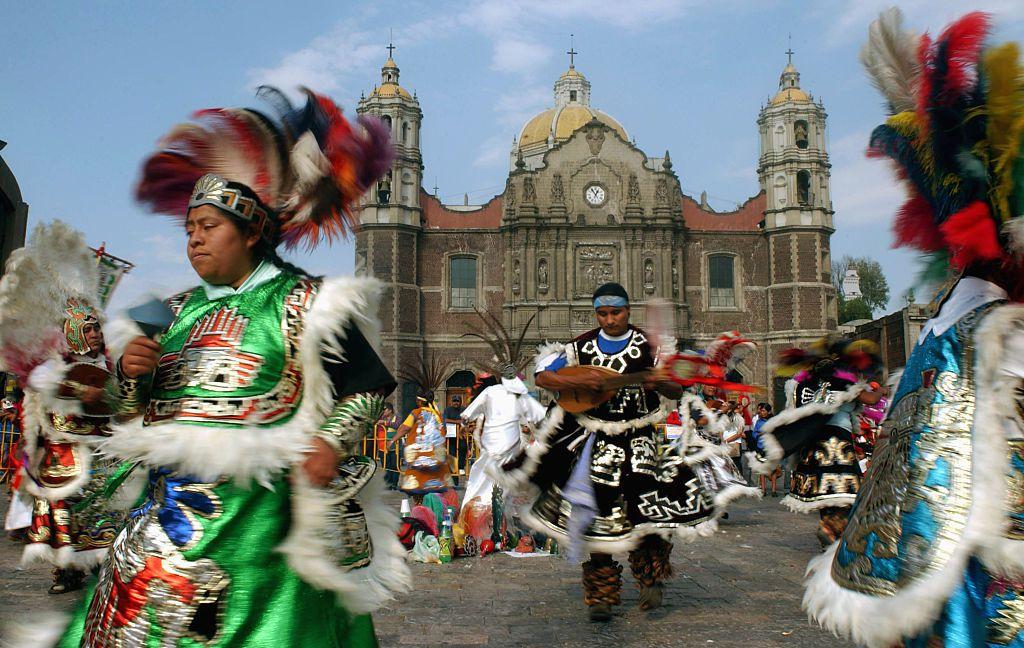 Celebración de la Virgen de Guadalupe en la Ciudad de México