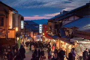 Kyoto old city , Japan