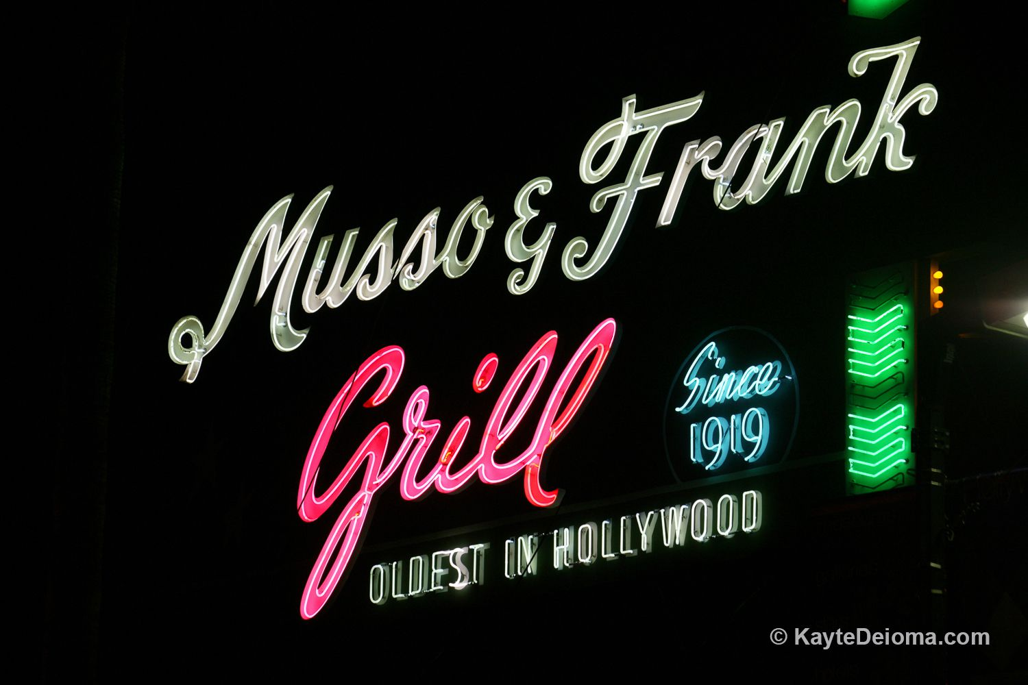 Musso & Frank Grill in Hollywood