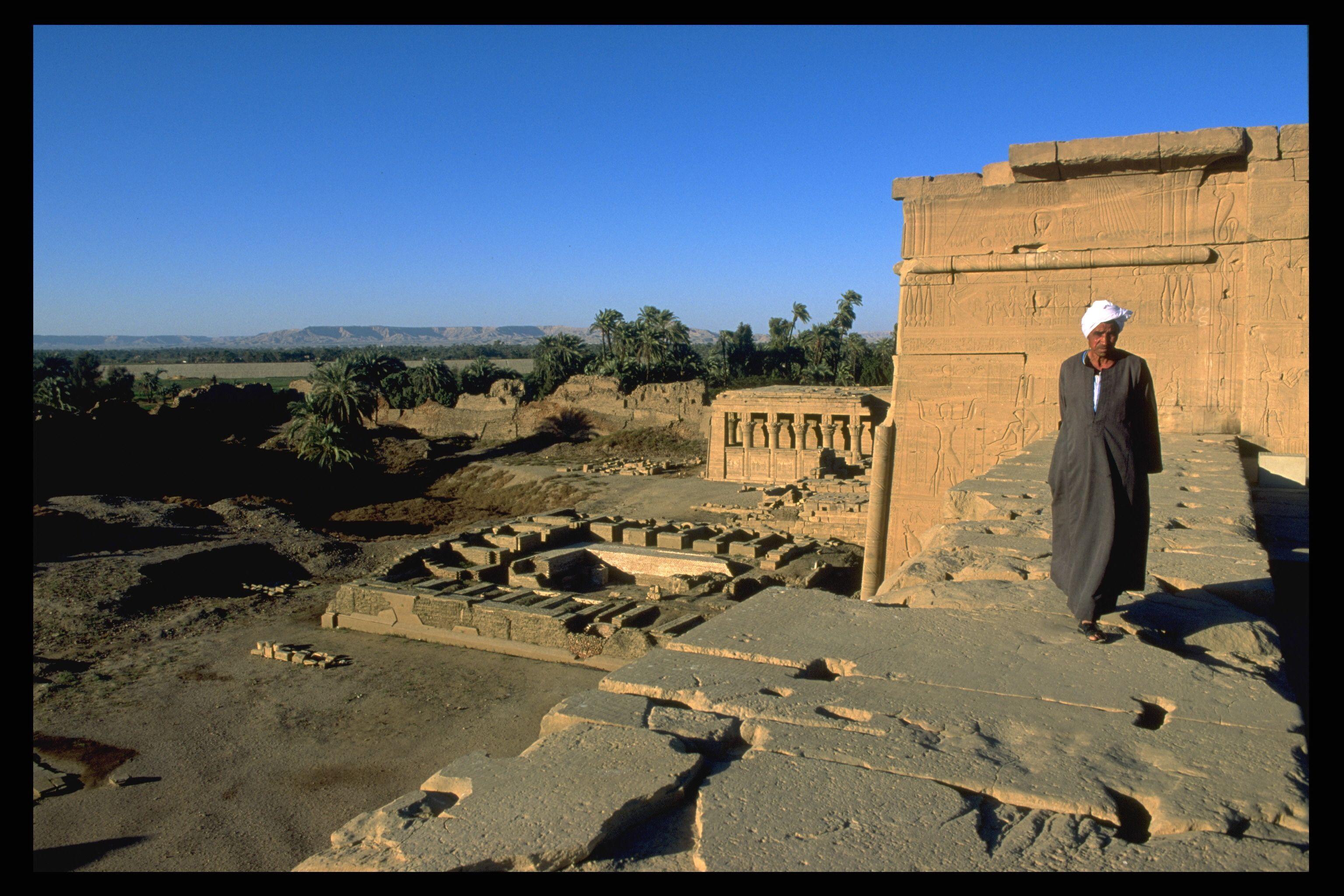 Temple of Dendera, Egypt