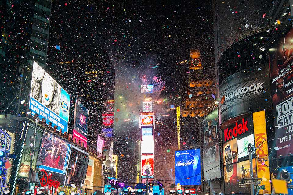 New Year's Eve 2013 In Times Square