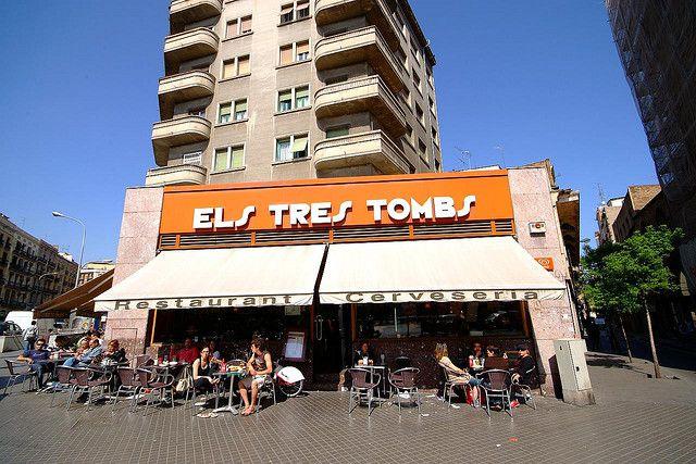 Els Tres Tombs Bar, Barcelona