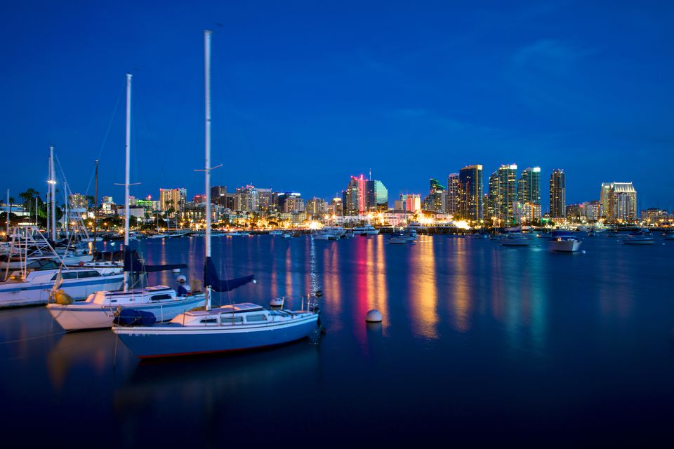 Peaceful San Diego Harbor